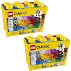 Lego 10698 Classic Creative Bricks Kids 790 Piece Building Box Sets (2 Pack)
