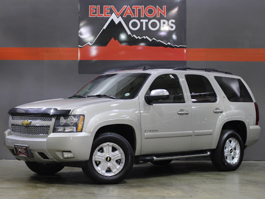 Used 2008 Chevrolet Tahoe Z71 for Sale in Lakewood CO 80215 Elevation Motors