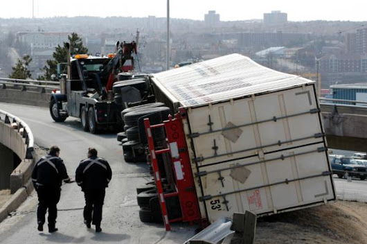 Truck Accidents Caused by Unbalanced Loads