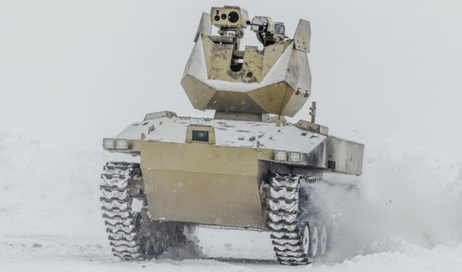 Kalashnikov Tests Two Unmanned Ground Vehicles called Soratnik and Nakhlebnik (4)