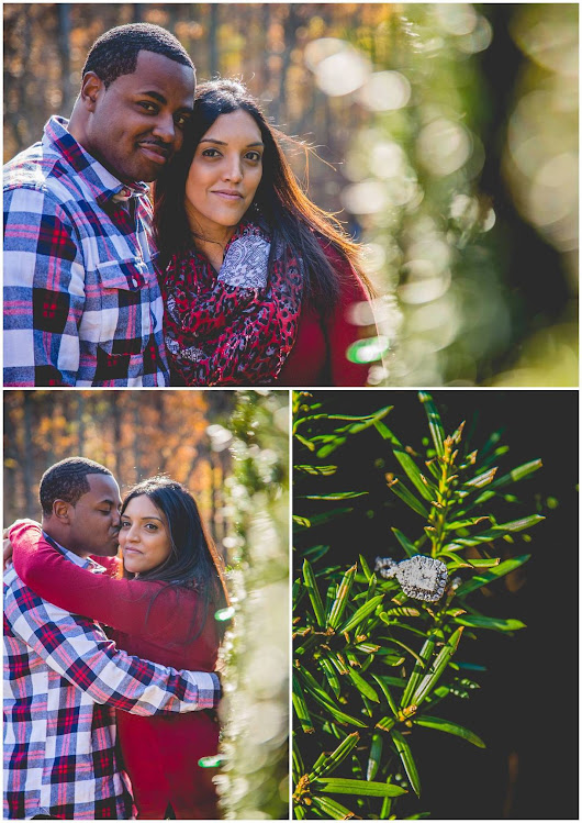 Derek & Shilpa's Garden Engagement  | Maryland Engagement Photographer