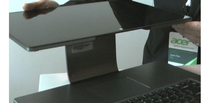 L'Aspire R7 d'Acer et son écran tactile réversible (c) Challenges