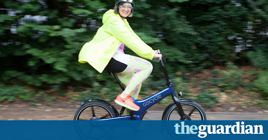 Why I'm proud to ride an e-bike | Life and style | The Guardian