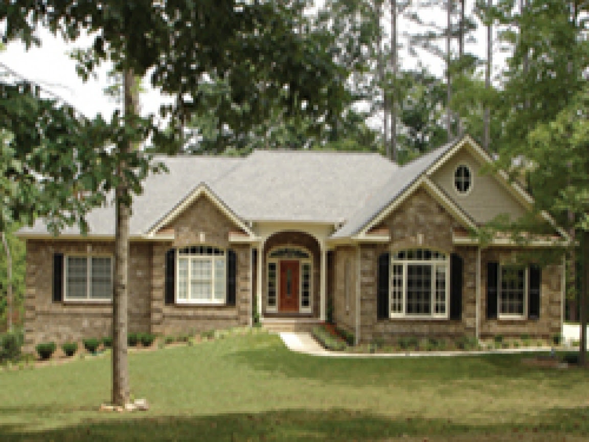 One Story Exterior House Designs Best One Story House Plans, house plans one story  Treesranch.com