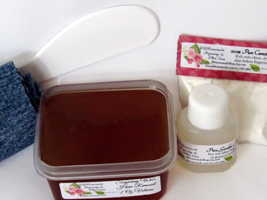 Sugaring Wax Natural Hair Removal for Thinner by JBHomemadeShop