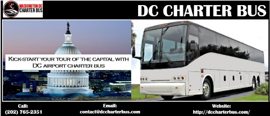 Kick-start your tour of the capital with airport charter bus DC | dc-charter-bus