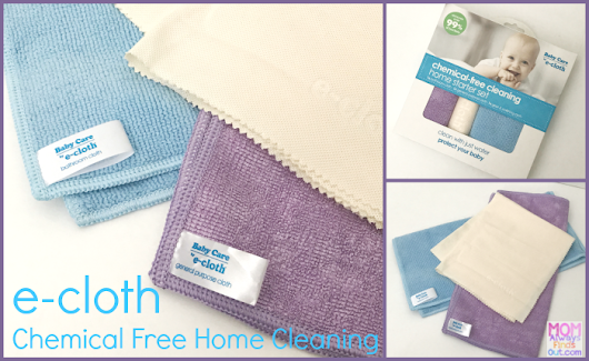 e-cloth Chemical Free Home Cleaning (Baby Care Starter Set)