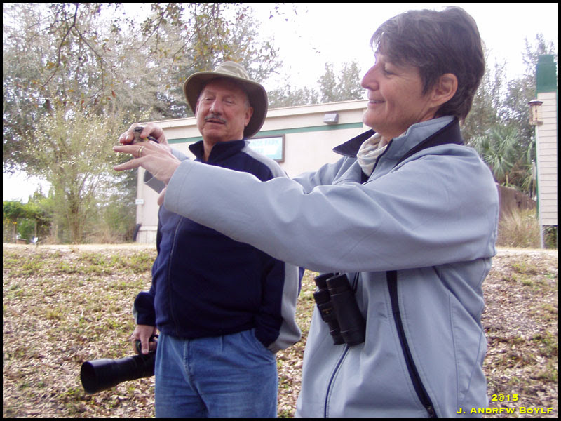 Releasing a Myrtle Warbler