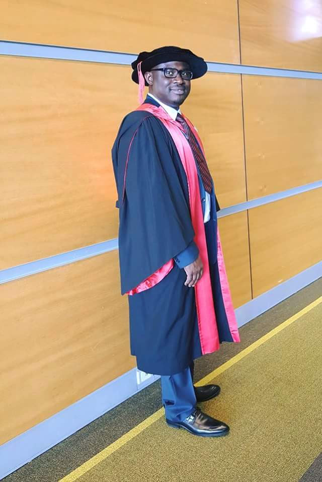 Image result for Mike Olu Akinlabi Now A PHD Holder