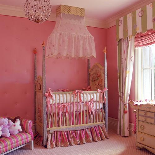 decoración de habitaciones para niñas princesas — idealista.