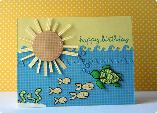 sea creatures birthday