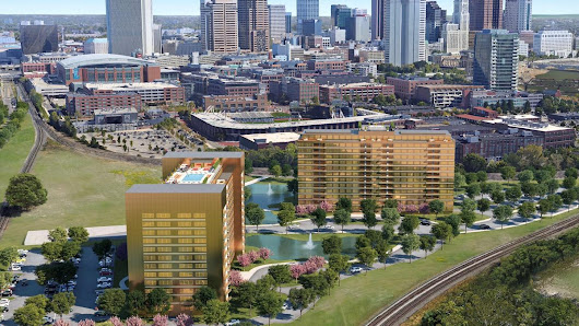 Schottenstein Real Estate developing 23 acres in Arena District with resort-style community - Columbus - Columbus Business First