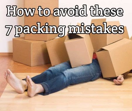 How to avoid these 7 packing mistakes, for the very best removal | Indalo Transport