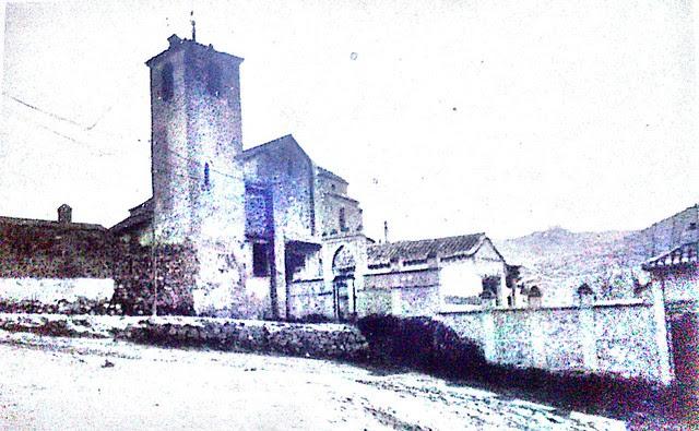 Iglesia de San Lucas a comienzos del siglo XX