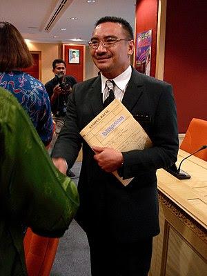 Hishammuddin Hussein, Malaysian Minister for E...