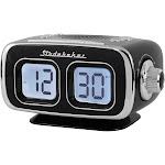 Studebaker - Digital Am/fm Clock Radio - Black