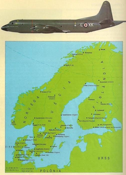 En Noruega, el Lockheed Orion P-38 tenía la función de observar los movimientos de submarinos soviéticos de la Flota del Norte. La importancia estratégica del flanco norte está claro: la URSS tenía en la región, un acceso directo al Atlántico.