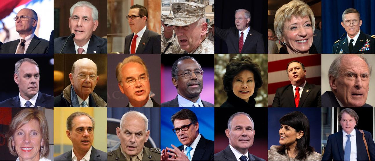 Image result for trump cabinet