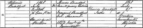 Birth Crop William Broadfoot by midgefrazel