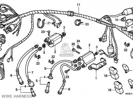 Honda Vt600c Shadow 1996 England / Mkh parts list ...