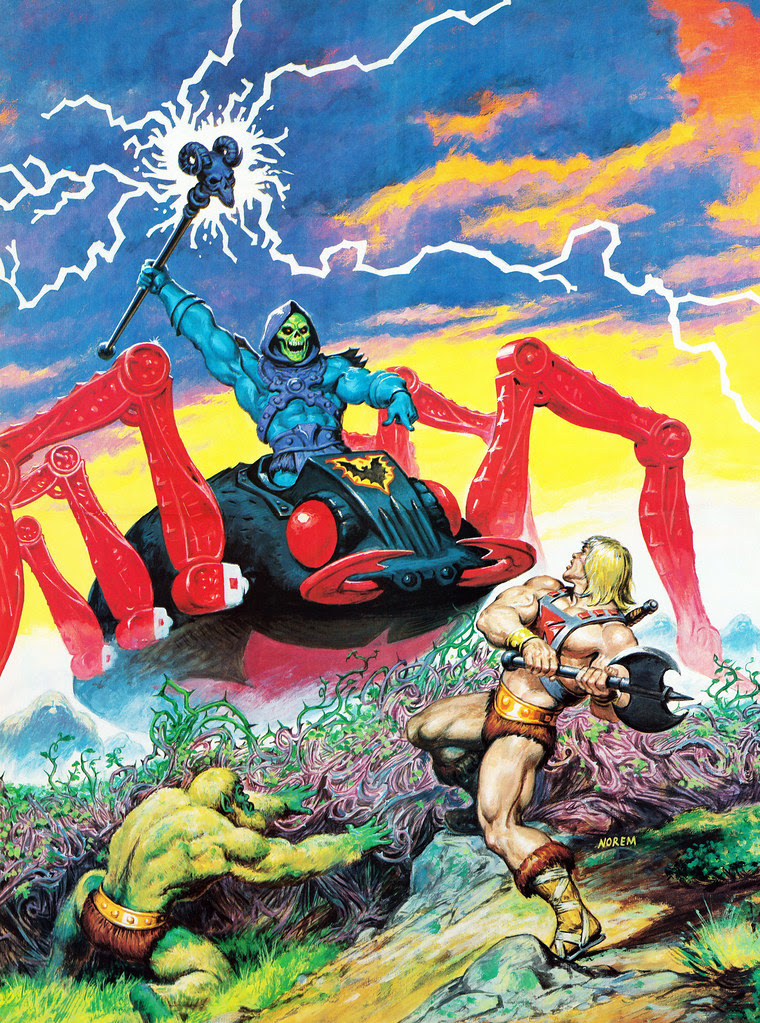 Masters Of The Universe - 8 (painting by Earl Norem