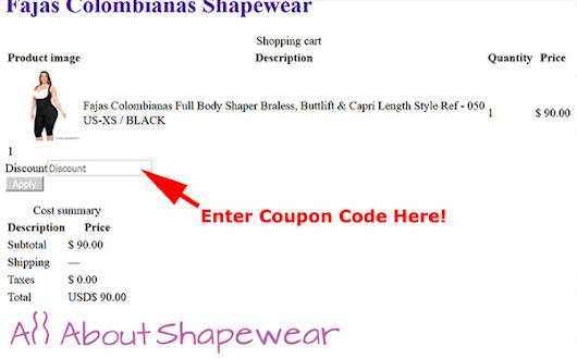 All About Shapewear Coupon Code & Review