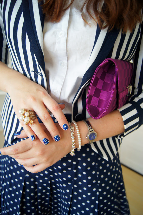 Pattern mixing by The Joy of Fashion (4)