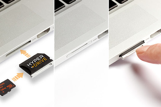 HyperDrive: The Best microSD Adapter for MacBook