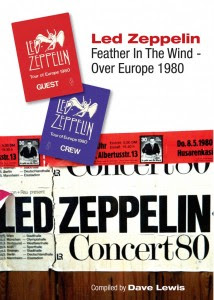 Led Zeppelin Feather in the Wind - Over Europe 1980