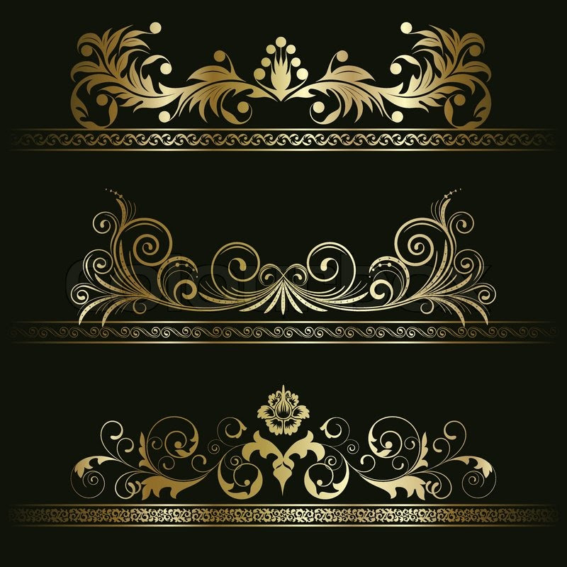 Black And Gold Vector At Getdrawingscom Free For Personal Use