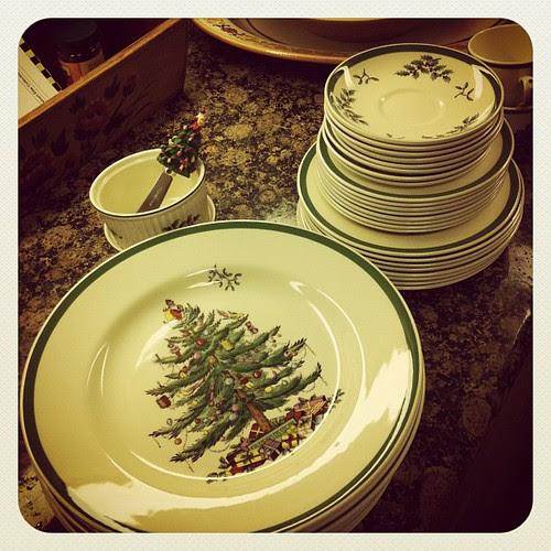 Time for Christmas Spode!