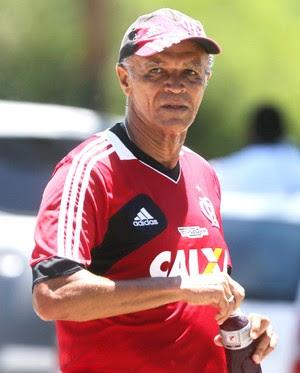 Jayme de Almeida treino do Flamengo (Foto: Guilherme Pinto / Agência O Globo)