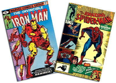 Iron Man #126 and Amazing Spider-Man #259