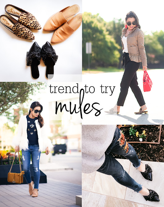 Trend To Try: Mules - cute & little | Dallas Petite Fashion Blogger
