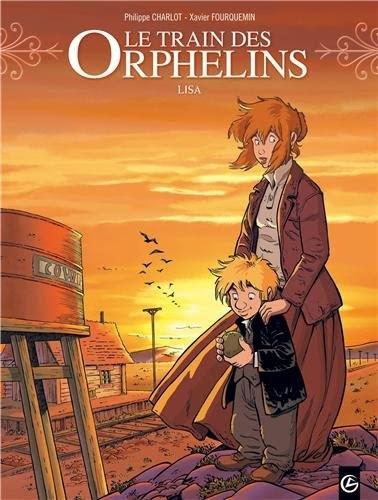 Couverture Le train des orphelins, tome 3 : Lisa