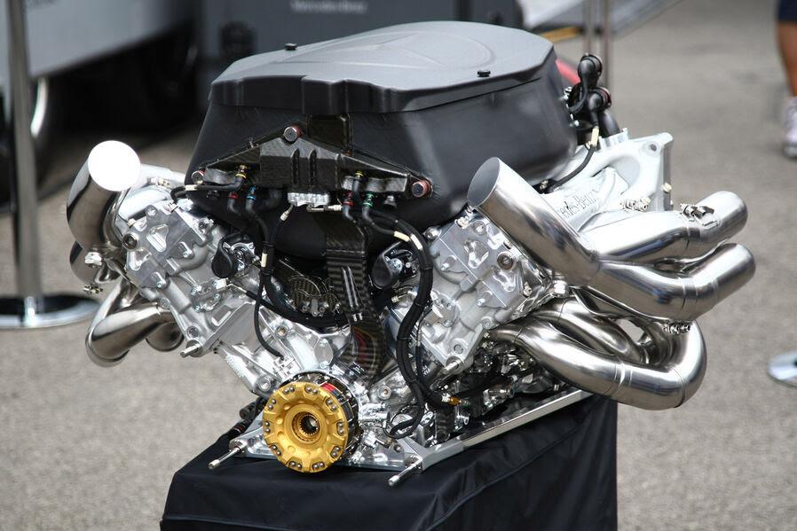 Fórmula 1 Mercedes-Benz V8 em 2011