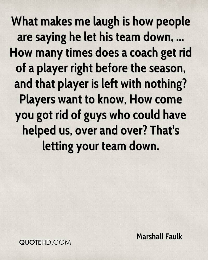 Marshall Faulk Quotes Quotehd
