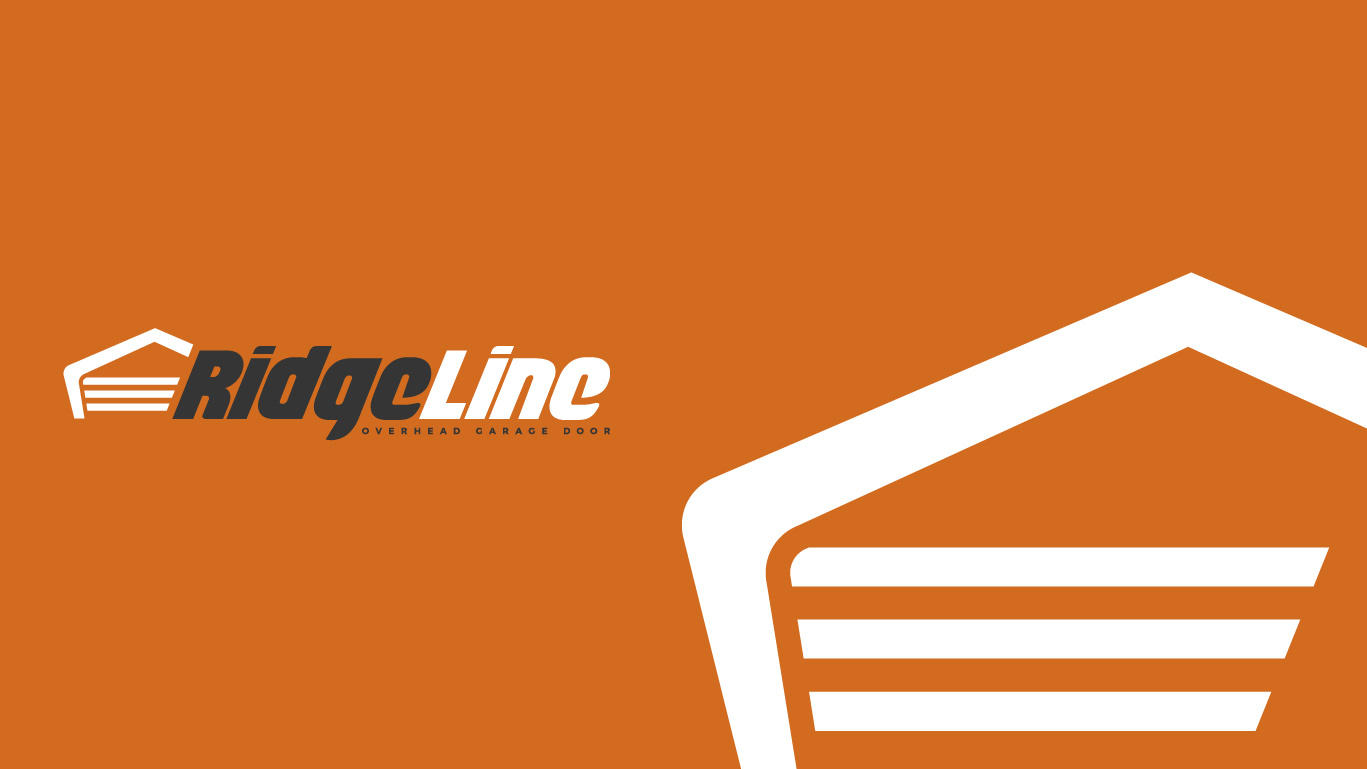 Ridgeline Garage Door Logo Design Essellegi Com