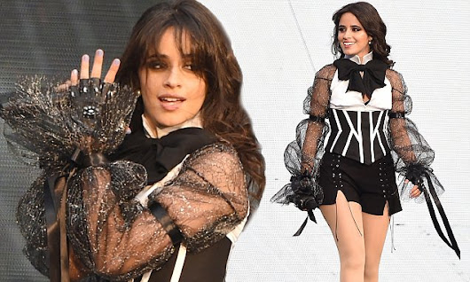 Camila Cabello wows as she opens Taylor Swift's tour in Manchester