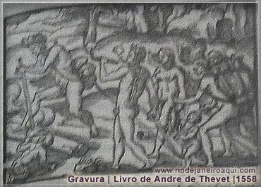 Habitantes primitivos das terras da Baía de Gunabara | 1558