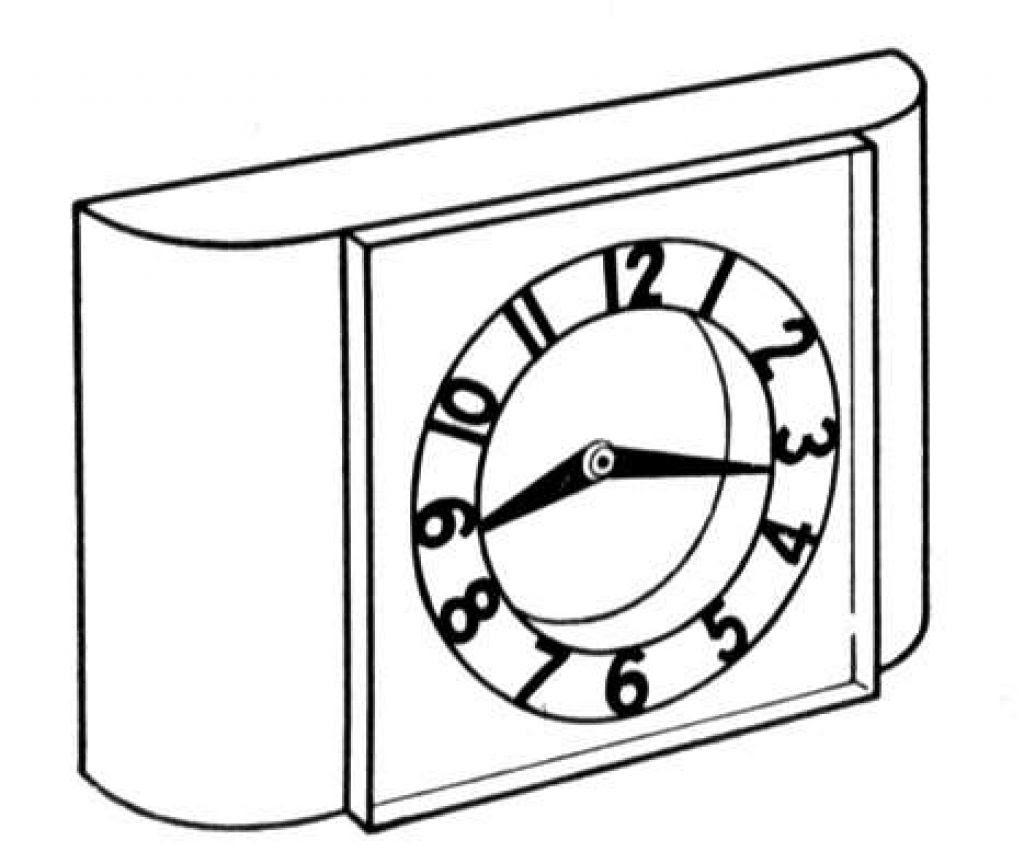 Clock Coloring Page Picturesjpg Sınıf öğretmenleri Için ücretsiz