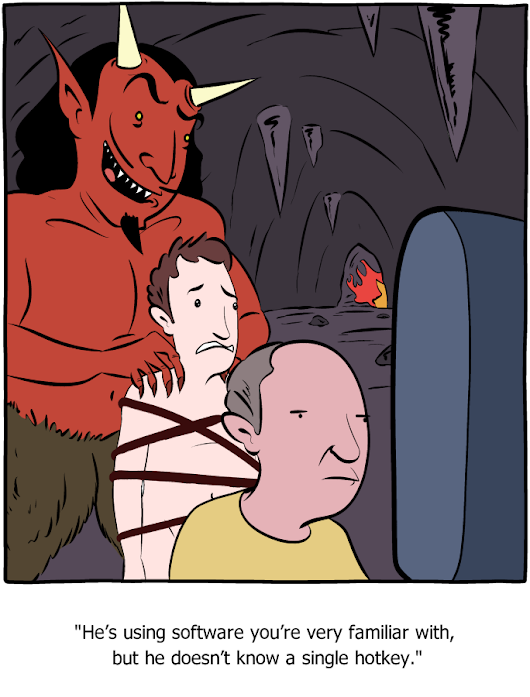 Saturday Morning Breakfast Cereal - Punishment