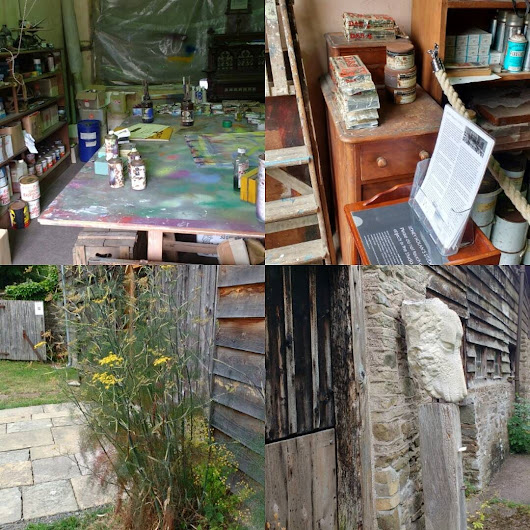 Another surprising find on http://ift.tt/1iY4KfS #cyclingholiday holiday..#sidneynolan art gallery and studio, near #presteigne last chance to see this week until 2 September