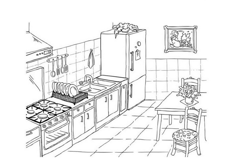 ausmalbild kuchen kostenlos  cartoonbild