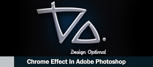 How to Design a Chrome Effect in Photoshop - DesignOptimal.com