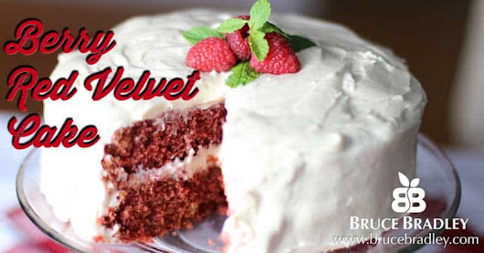 Recipe: Berry Red Velvet Cake
