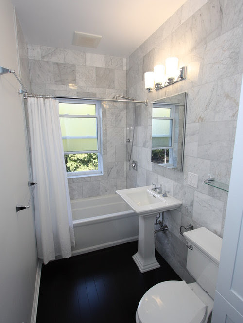 Long Narrow Bathroom Home Design Ideas, Pictures, Remodel ...