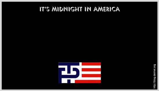 It's midnight in America: Trump/Pence