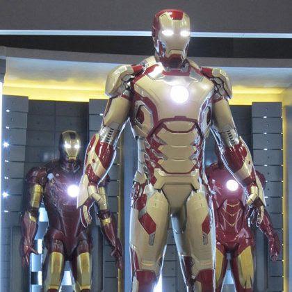 El nuevo traje de Stark para Iron Man 3