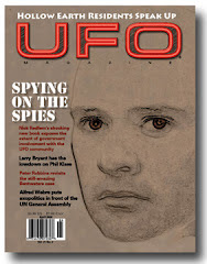 "UFO MAGAZINE ON ""SAUCER SPIES"""